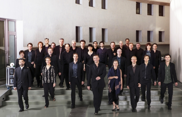 Foto de l'Ensemble Intercontemporain ©Franck Fervile