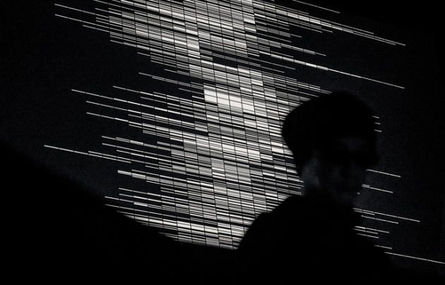 supercodex [live set], 2013 ©Ryoji Ikeda photo by Ryo Mitamura