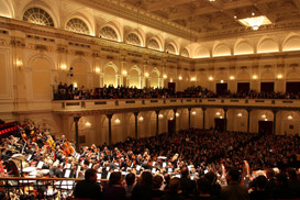 THE OBC AT THE CONCERTGEBOUW