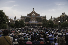 La Banda Concert in the Gardens of the Sant Pau Art Nouveau Site
