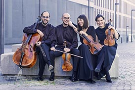 Casals and Cosmos Quartets
