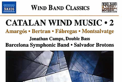CD BANDA Catalan Wind Music